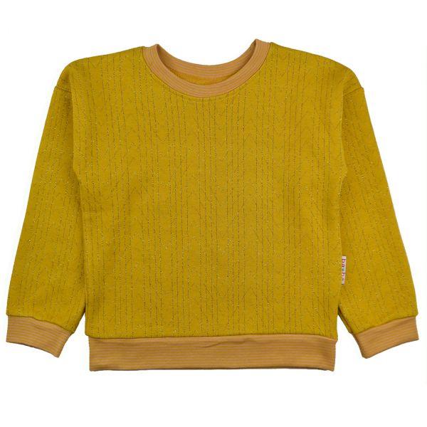 BABA - Uni sweater - Mädchen Langarm Glitzer Shirt