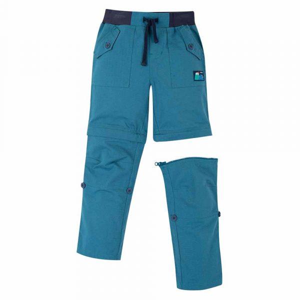 FRUGI - TYLER RIPSTOP COMBATS - ZIP HOSE - STEELY BLUE
