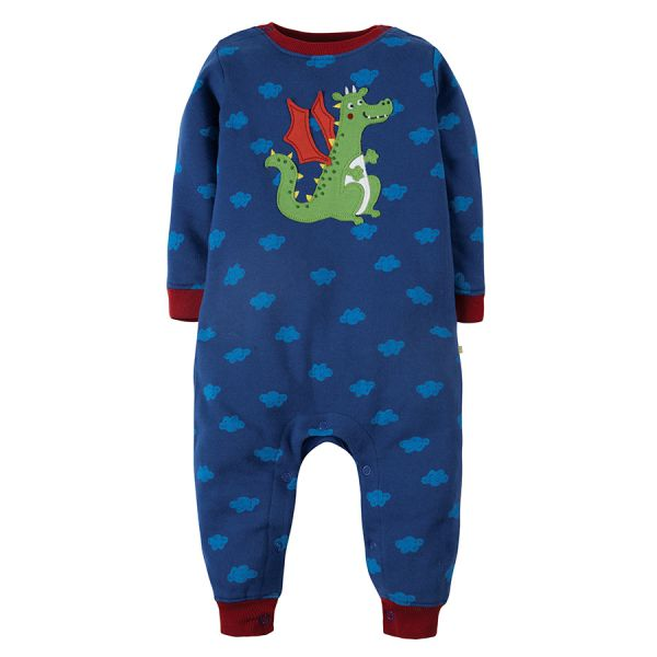 FRUGI - SNUG AND COSY ROMPER - BABY OVERALL