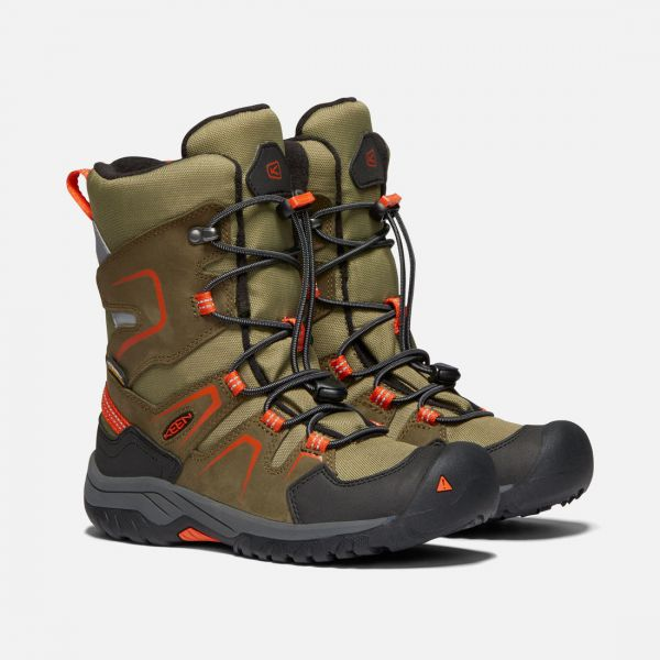 KEEN - LEVO WINTER WP - WASSERDICHTER WINTERBOOT YOUTH