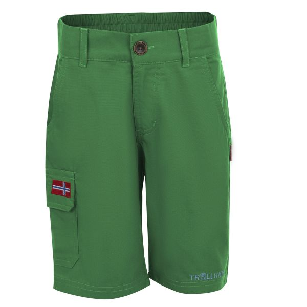 TROLLKIDS - KIDS SANDEFJORD SHORTS XT - KURZE HOSE - INDIA GREEN