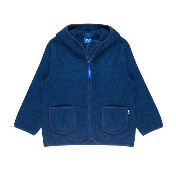 finkid TONTTU WOOL ZIP IN WOLLFLEECE JACKE